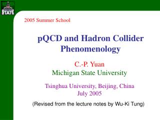 pQCD and Hadron Collider Phenomenology
