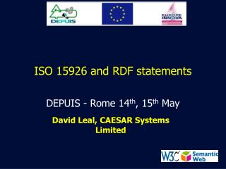 ISO 15926 and RDF statements