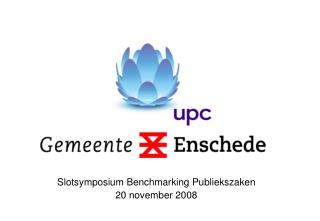 Slotsymposium Benchmarking Publiekszaken 20 november 2008