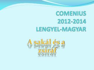 COMENIUS  2012-2014 LENGYEL-MAGYAR