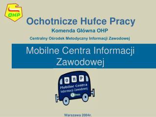 Mobilne Centra Informacji Zawodowej