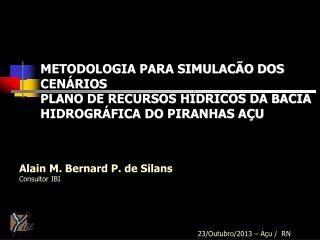 Alain M. Bernard P. de Silans Consultor IBI