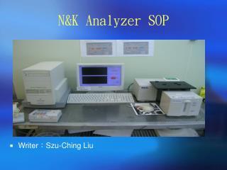 N&K Analyzer SOP