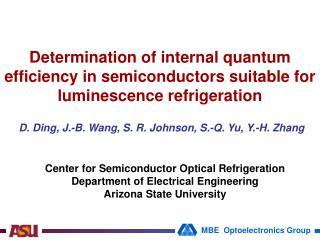 D. Ding, J.-B. Wang, S. R. Johnson, S.-Q. Yu, Y.-H. Zhang