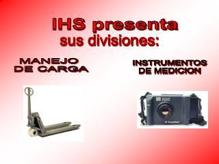 IHS presenta
