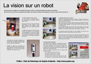 La vision sur un robot