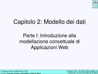 Modellazione concettuale di applicazioni Web