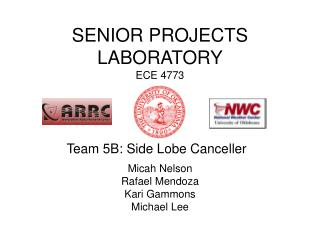 SENIOR PROJECTS LABORATORY ECE 4773