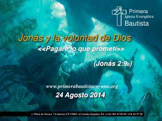 Jonás y la voluntad de Dios