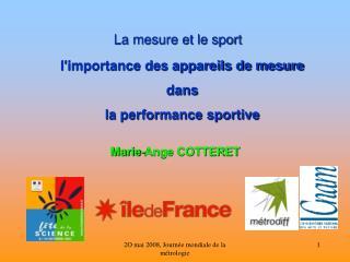 La mesure et le sport