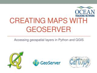 Creating Maps with Geoserver