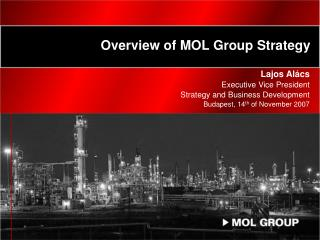 Overview of MOL Group Strategy