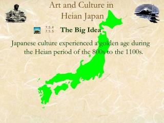 Art and Culture in  Heian Japan
