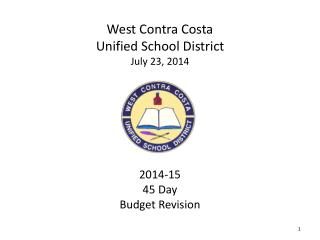 West Contra Costa Unified School District July 23, 2014