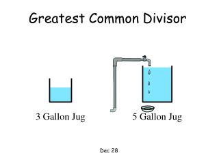 3 Gallon Jug