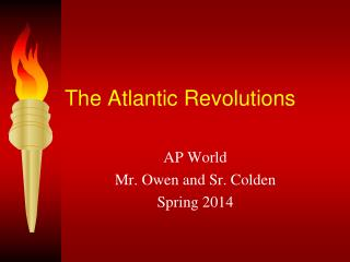 The Atlantic Revolutions