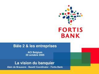 B le 2  les entreprises  ACI Belgium 20 octobre 2005