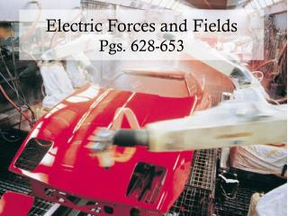 Electric Forces and Fields Pgs. 628-653