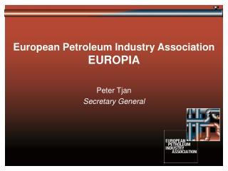 European Petroleum Industry Association EUROPIA