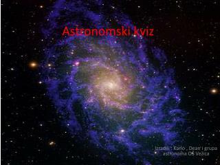 Astronomski kviz