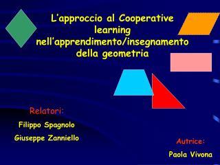 L approccio al Cooperative learning nell apprendimento