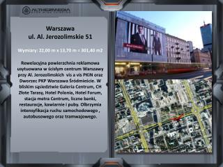 Mapki używane w naszych prezentacjach pochodzą ze źródeł: Google Maps, Zumi, Targeo.