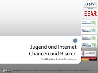 Jugend und Internet Chancen und Risiken