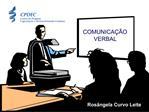COMUNICA  O VERBAL