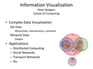 Information Visualization Peter Rodgers School of Computing