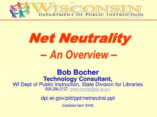 Net Neutrality –  An Overview –