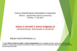 Boštjan Ivančič,IVD Maribor p.o.
