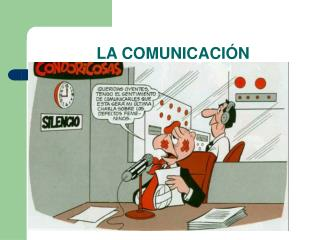 LA COMUNICACI�N