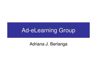 Ad-eLearning Group