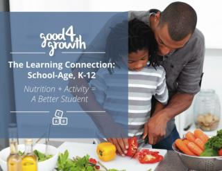 The Learning Connecion: School-Age, K-12  Nutrition + Activity = A Better Student