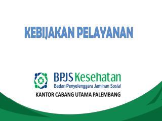 TEKNIS PELAYANAN KESEHATAN  PADA FASKES TINGKAT LANJUTAN  RSUP Dr. Mohammad Hoesin Palembang