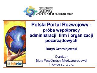 T rwa ły  i zrównowa ż on y  rozw ó j (sustainable development)