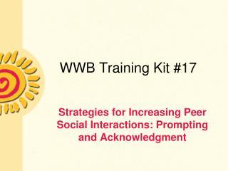 WWB Training Kit 17