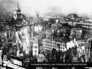 mediageschiedenis, een introductie door harold konickx