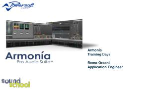 Armon í a Training  Days Remo Orsoni Application  Engineer