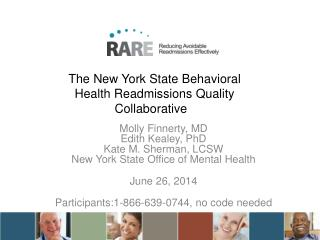 The New York State Behavioral Health Readmissions Quality Collaborative