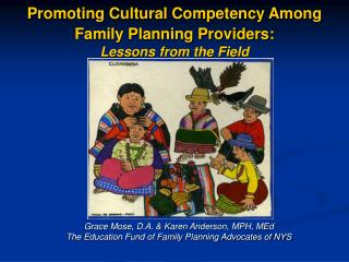 Promoting Cultural Competency Among Family Planning Providers: Lessons from the Field