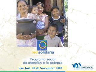San Jos�, 20 de Noviembre 2007