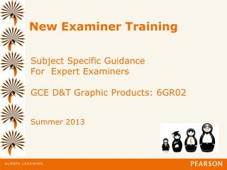 New Examiner Training