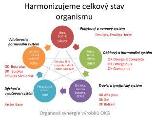 Harmonizujeme celkový stav organismu