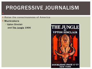 Progressive Journalism