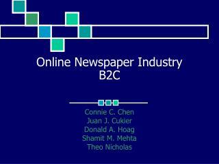 Online Newspaper Industry B2C