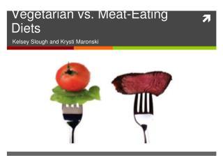 Vegetarian vs. Meat-Eating Diets