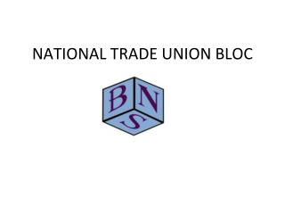 NATIONAL TRADE UNION BLOC