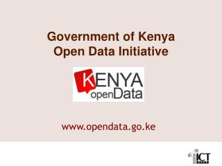 Government of Kenya Open Data Initiative