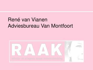 René van Vianen Adviesbureau Van Montfoort